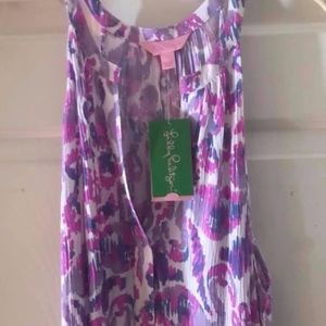 NWT: Lilly Pulitzer Monica Beach Dress